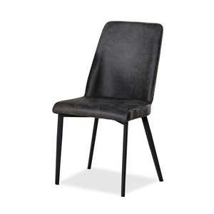 Mazin Industries Arabica Traditional Side Chair - Black - Set of 2