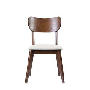 Mazin Industries Anika II Traditional Side Chair - Brown - Set of 2