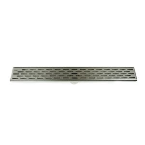 Towo Linear Shower Drain - Grill Grid - 24-in x 3-in - Stainless Steel