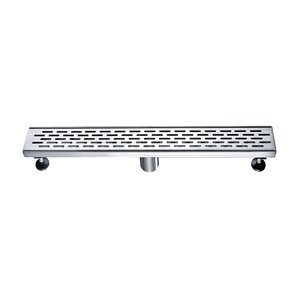 Towo Linear Shower Drain - Grill Grid - 36-in x 3-in - Stainless Steel