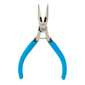 Channellock 4-in Electronics Long-Nose Pliers with Cutting Feature - 4.86 Handle
