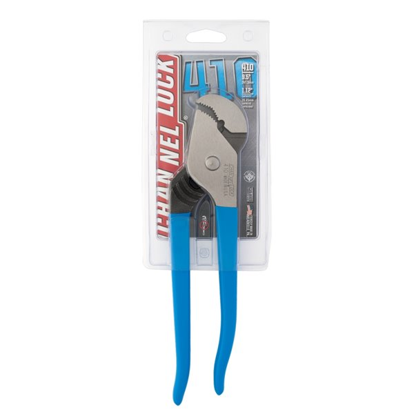 Channellock Blue 9.5-in Construction Tongue and Groove Pliers