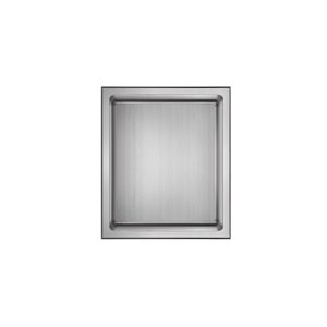 Akuaplus Bath Shower Niche - 12-in x 14-in - Polished Stainless Steel