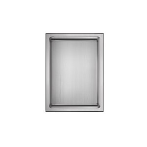 Akuaplus Bath Shower Niche - 12-in x 16-in - Polished Stainless Steel