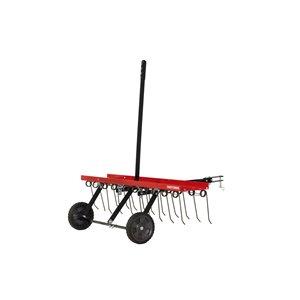 Craftsman 40-in Tow Dethatcher - Red