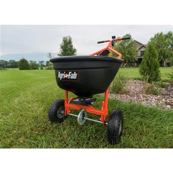 Agri-Fab 110 lb Push Spreader