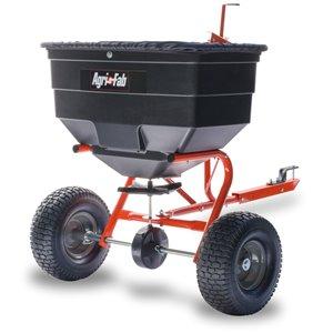 Épandeur tractable Agri-Fab, 185 lb, compatible avec un VTT ou un VUT