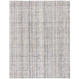 Tapis décoratif rectangulaire Abstract de Safavieh, fait à la main, 8 pi x 10 pi, chameau/noir