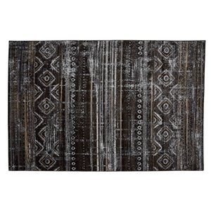 Collection Bourbon Street Mystic Area Rug - 8-ft x 10-ft - Brown