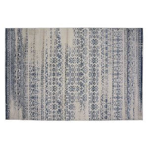 Tapis Jasper de la Collection Bourbon Street, 8 pi x 10 pi, bleu clair