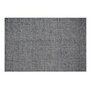 Tapis Stillwater de la Collection Bourbon Street, 5 pi x 8 pi, charbon