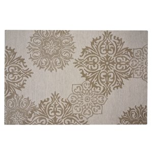 Collection Bourbon Street Augusta Area Rug - 5-ft x 8-ft - Ivory