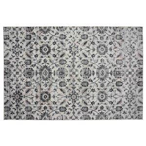 Tapis Georgetown de la Collection Bourbon Street, 8 pi x 10 pi, ivoire