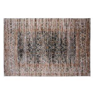 Tapis Danbury de la Collection Bourbon Street, 8 pi x 10 pi, gris