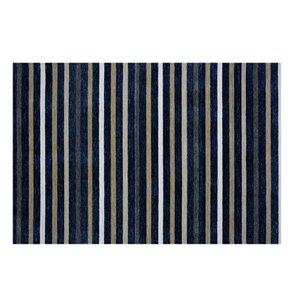 Tapis Freeport de la Collection Bourbon Street, 8 pi x 10 pi, bleu