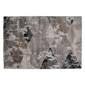 Tapis Montgomery de la Collection Bourbon Street, 8 pi x 10 pi, beige