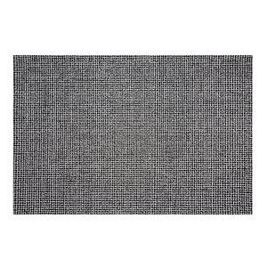 Tapis Stillwater de la Collection Bourbon Street, 8 pi x 10 pi, noir