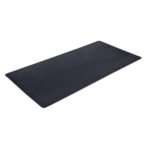 Motiontex Fitness Equipment Mat - Black - 6-ft x 3-ft