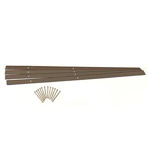 EasyFlex Aluminum Edging Kit - Bronze - 24-ft