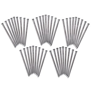 EasyFlex Round Steel Anchoring Spike Pack - 45 pieces