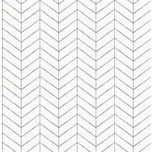 Papier peint encollé non tissé Birch & Sparrow par Chesapeake, 56,4 pi², taupe