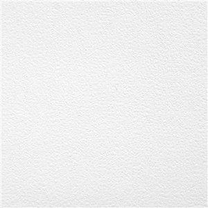 Papier peint encollé Solutions V par Brewster, peut être peint, 56,4 pi², blanc
