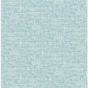 Papier peint autoadhésif en vinyle par NuWallpaper, 30,75 pi², bleu pâle