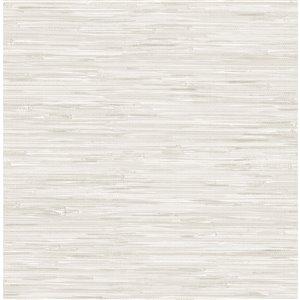 NuWallpaper Self-Adhesive Vinyl Wallpaper - 30.75-sq. ft. - Cream