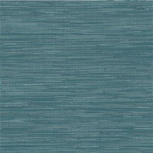 Papier peint autoadhésif en vinyle par NuWallpaper, 30,75 pi², bleu