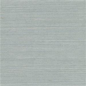 Papier peint non encollé en toile de ramie Mirador Canton Road par Kenneth James, 72 pi², ardoise