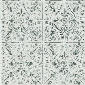 InHome Abstract Self-Adhesive Peel and Stick Tile - 20-in x 20-in - White - 4-Piece