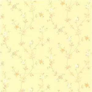 Papier peint encollé en vinyle Resource IV par Brewster, 56,4 pi², beige
