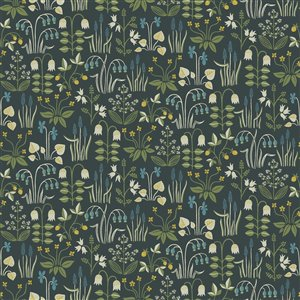 Wall Vision In Bloom Unpasted Nonwoven Wallpaper - 57.8-sq. ft. - Multicolour