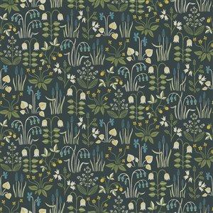 Papier peint non encollé et non tissé In Bloom par Wall Vision, 57,8 pi², multicolore