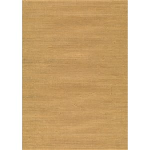 Kenneth James Jiangsu Unpasted Grasscloth Wallpaper - 72-sq. ft. - Beige
