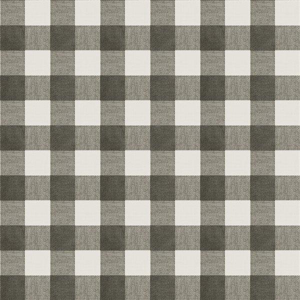 Papier peint non encollé et non tissé Sage Hill par Chesapeake, 56,4 pi², noir