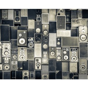 Wall Rogues Background Noise Wall Mural - Unpasted - 118-in x 94-in