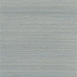Papier peint non encollé en toile de ramie Binan Canton Road par Kenneth James, 72 pi², ardoise