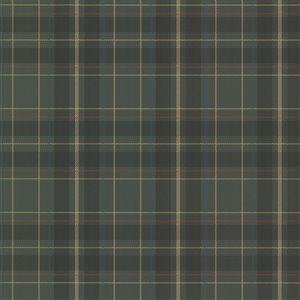 Beacon House Oxford Unpasted Nonwoven Wallpaper - 56.4-sq. ft. - Dark Green