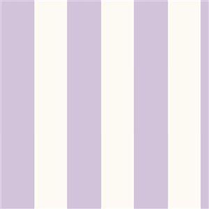 Papier peint encollé Totally For Kids par Chesapeake, 56,4 pi², violet