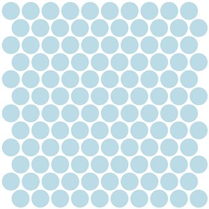 InHome Penny Self-Adhesive Peel and Stick Backsplash Tile - 20-in x 20-in - Set of 4 Panels