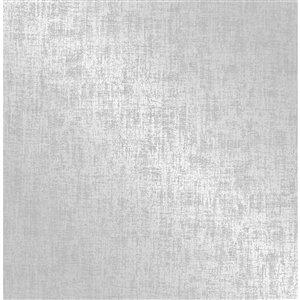 Papier peint non encollé et non tissé Medley par Fine Decor, 56,4 pi², argent