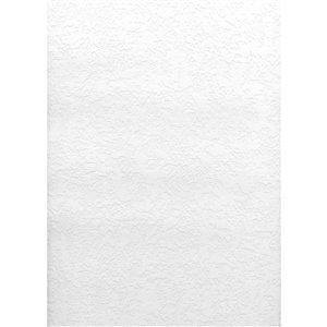 Papier peint encollé en vinyle Dunlap Solutions V par Brewster, peut être peint, 56,4 pi², blanc