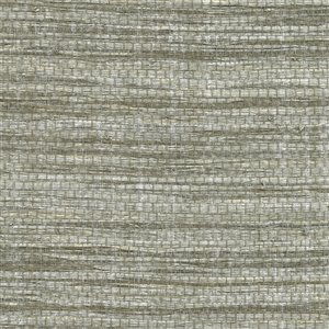 Kenneth James Canton Road Cavite Unpasted Grasscloth Wallpaper - 72-sq. ft. - Grey