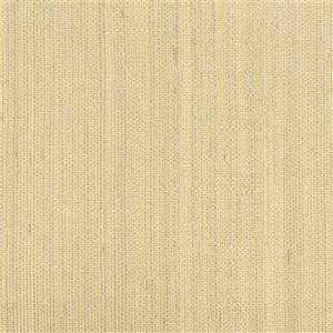 Papier peint non encollé en toile de ramie Jade par Kenneth James, 72 pi², champagne