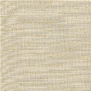 Papier peint non encollé en vinyle Texturall III par Warner Textures, 60,8 pi², miel