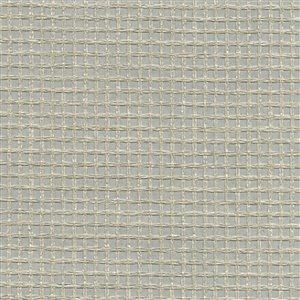 Papier peint non encollé en toile de ramie Wanchai Canton Road par Kenneth James, 72 pi², gris
