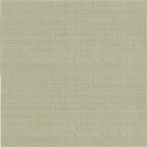 Papier peint non encollé en toile de ramie Zen par Kenneth James, 72 pi², vert pâle