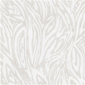 Papier peint non encollé et non tissé Tempest Sparkle par Kenneth James, 56,4 pi², argent