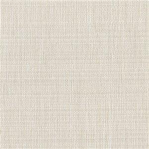 Papier peint non encollé en vinyle Vol V par Warner Textures, 60,8 pi², beige